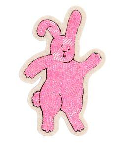 Olympia Le-Tan | Rabbit Beaded Pin
