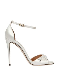 Dolce & Gabbana | 105mm Swarovski Crystal Satin Sandals