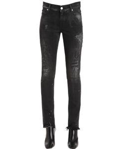 Alyx | Skinny Destroyed Cotton Denim Jeans