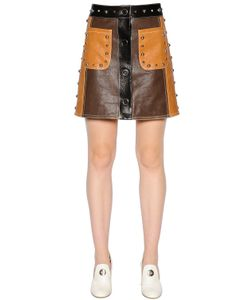Drome | Studded Leather Mini Skirt
