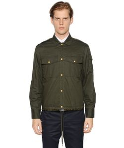 Moncler Gamme Bleu | Cotton Muslin Shirt Jacket