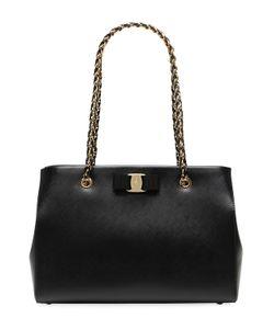 Salvatore Ferragamo | Medium Melike Saffiano Leather Bag