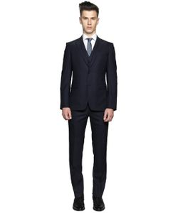 Z Zegna | Super 120s Wool Micro Dot Fil-A-Fil Suit