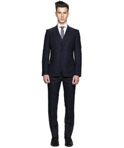 Z Zegna | Super 120s Wool Micro Dot Fil-A-Fil Suit