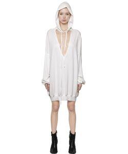 Unravel | Cut Out Oversized Cotton Sweatshirt