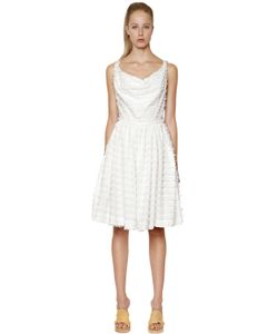Vivienne Westwood Anglomania | Monroe Frayed Cotton Toile Dress