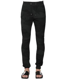 Hydrogen | Camouflage Stretch Cotton Sweatpants