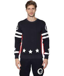 Hydrogen   17 Cotton Jersey Sweatshirt