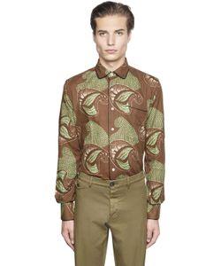 Gabriele Pasini   Tribal Printed Jacquard Pajama Shirt