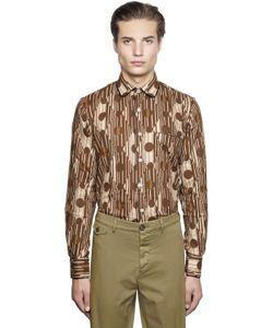 Gabriele Pasini   Geometric Printed Jacquard Pajama Shirt