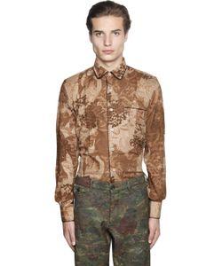 Gabriele Pasini | Floral Printed Jacquard Pajama Shirt
