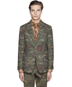 Gabriele Pasini | Techno Cotton Tapestry Gobelin Jacket