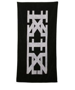 KTZ   Reversible Logo Jacquard Cotton Towel