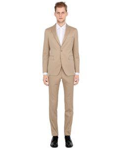Tagliatore | Solaro Cotton Herringbone Suit