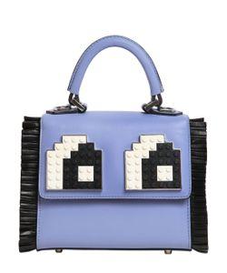 Les Petits Joueurs | Micro Alex Eyes Fringed Top Handle Bag