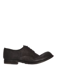 Officine Creative | Brushed Horse Leather Lace-Up Shoes