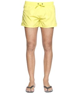 Diesel | Short Neon Nylon Swim Shorts