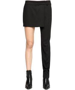 Filles A Papa | Half Skirt One Leg Tuxedo Pants