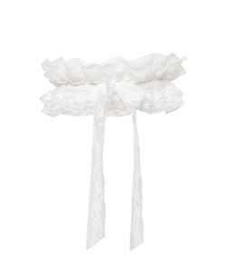 Chantal Thomass | Stretch Crepe Lace Garter