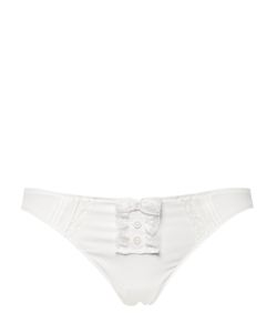 Chantal Thomass | Stretch Crepe Lace Briefs