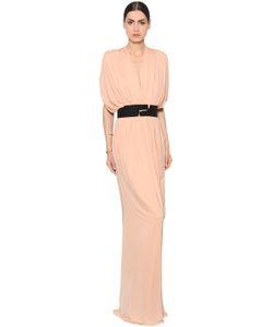 Vionnet | Pleated Viscose Jersey Dress