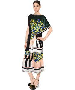 Vionnet | Mimosa Printed Silk Satin Dress