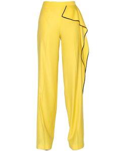 Vionnet | Ruffled Stretch Wool Crepe Pants