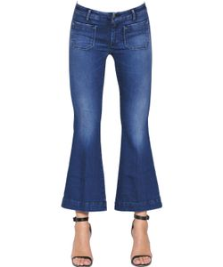Seafarer | Penelope Short Cotton Denim Jeans