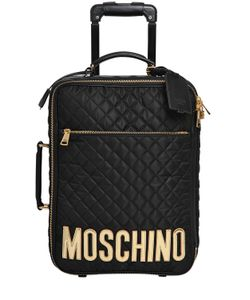 Moschino | Medium Quilted Nylon Trolley