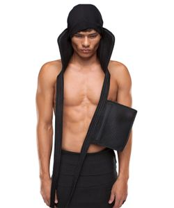 Demobaza | Nylon Harness Bag With Collar