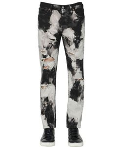 Htc Hollywood Trading Company | 17.5cm Tie Dye Cotton Denim Jeans