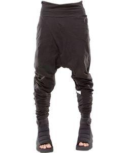 Demobaza | Line Baggy Cotton Knit Pants