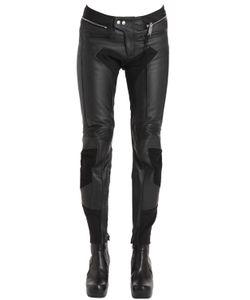Alyx | Color Block Leather Moto Pants