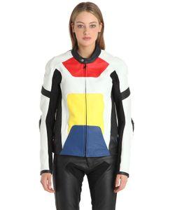 Alyx | Color Block Leather Moto Jacket