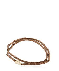 Luis Morais | Gold Double Wrap Arrow Bracelet