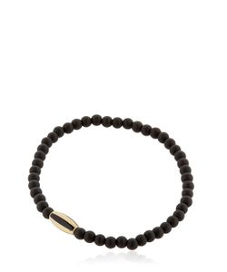 Luis Morais | Yellow Gold Striped Bracelet