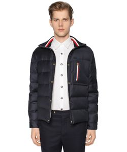 Moncler Gamme Bleu | Wool Down Jacket W Knit Collar