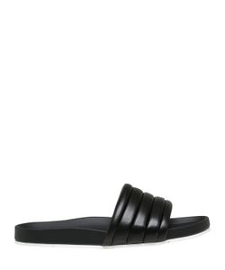 Fendi | Quilted Leather Slide Sandals