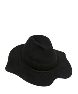 Ilariusss   Lapin Felt Hat W/ Mouth Brim