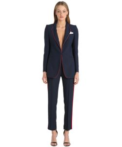 THE HEBE SUIT | Viscose Crepe Smoking Suit