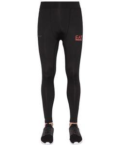 EA7 | Nylon Stretch Running Leggings