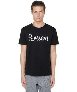 Maison Kitsuné | Parisien Printed Cotton Jersey T-Shirt