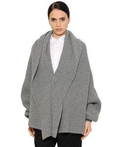 Jil Sander | Oversized Ribbed Wool Blend Sweater