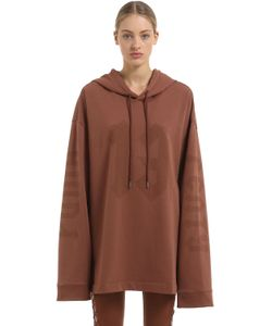 FENTY X PUMA   Hooded Extra Long Sleeve Sweatshirt