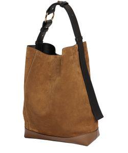 Marni | Medium Halo Pod Suede Bucket Bag