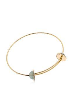 Delfina Delettrez | Sliding Chalcedony Drops Bracelet
