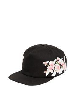 Off-White | Cherry Flowers Stripes Baseball Hat