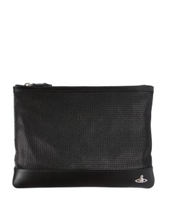 Vivienne Westwood | Orbit Detail Embossed Leather Pouch