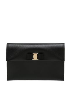 Salvatore Ferragamo | Saffiano Leather Pouch