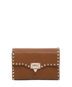 Valentino | Medium Rockstud Leather Shoulder Bag